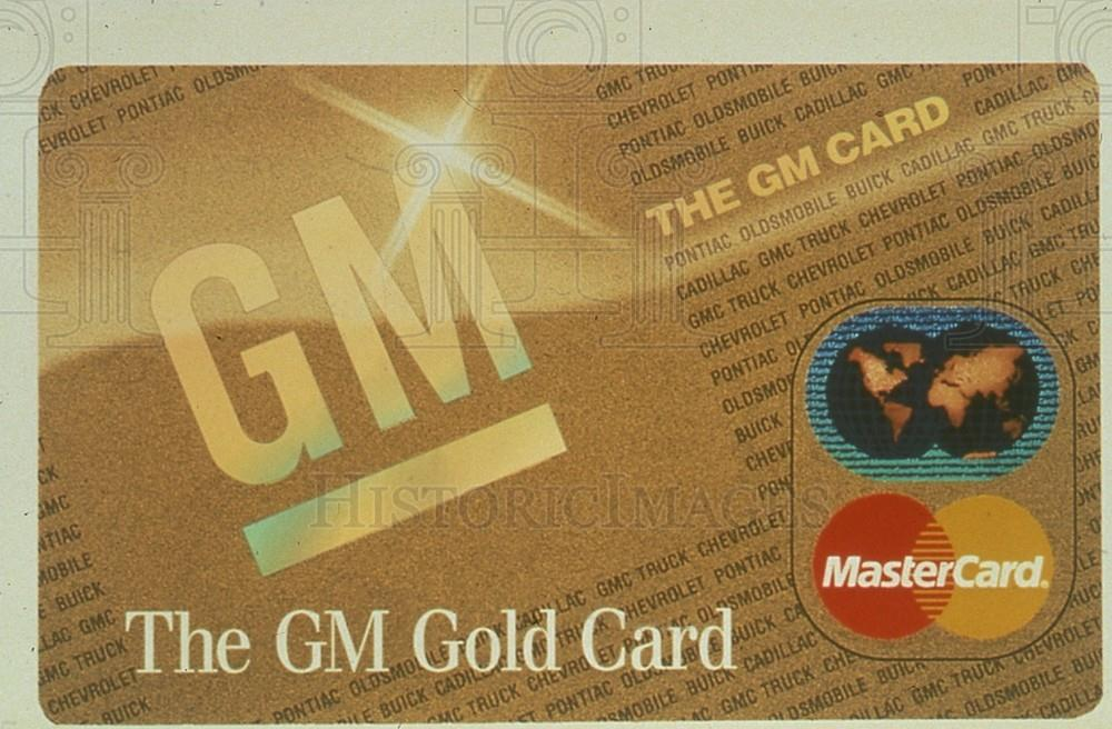 Gm world card mastercard
