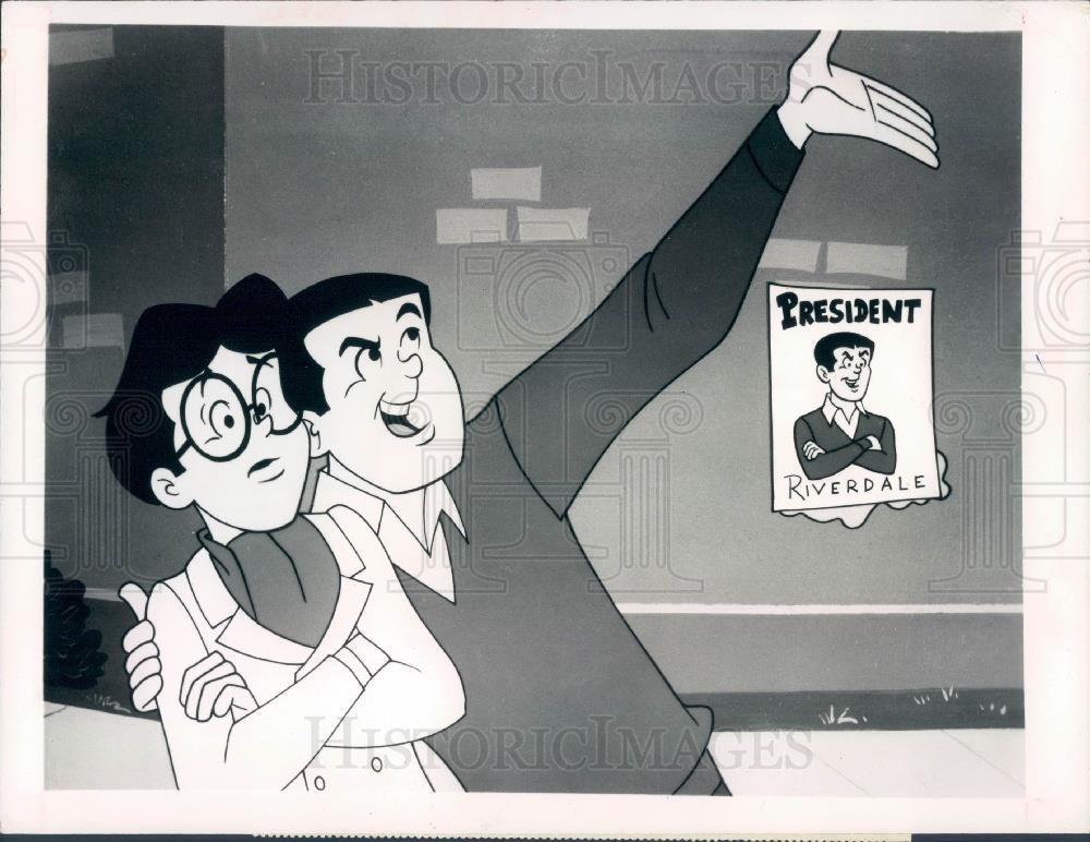 Cartoon Characters 1970s List : Cartoon characters the archies press photo ebay