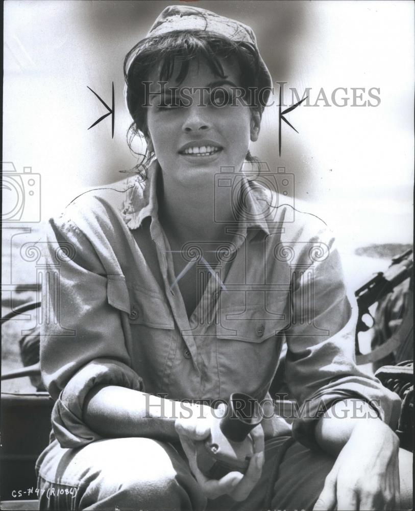 Details About 1966 Press Photo Senta Berger Austrian Film Actress