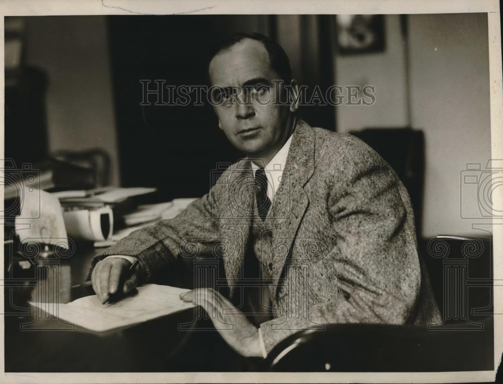 press photo basil nanly former joint chairman of the war labor board