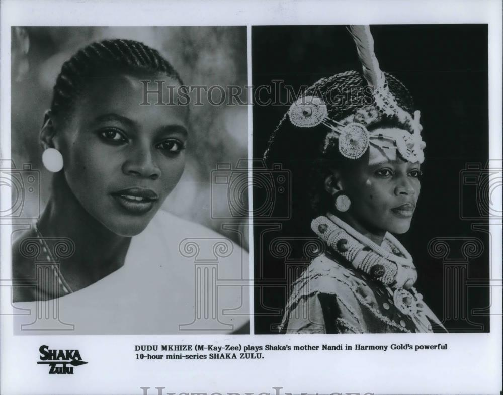 Shaka Zulu Mini Series 1986 Press Photo Dudu ...