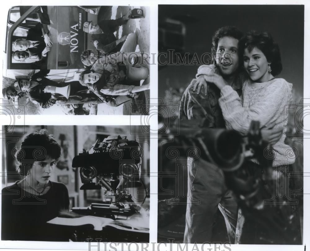 Movie And Tv Press Photos Short Circuit 10 Johnny 5 From 1986 2 Photo Ally Sheedy Steve Guttenberg Five In
