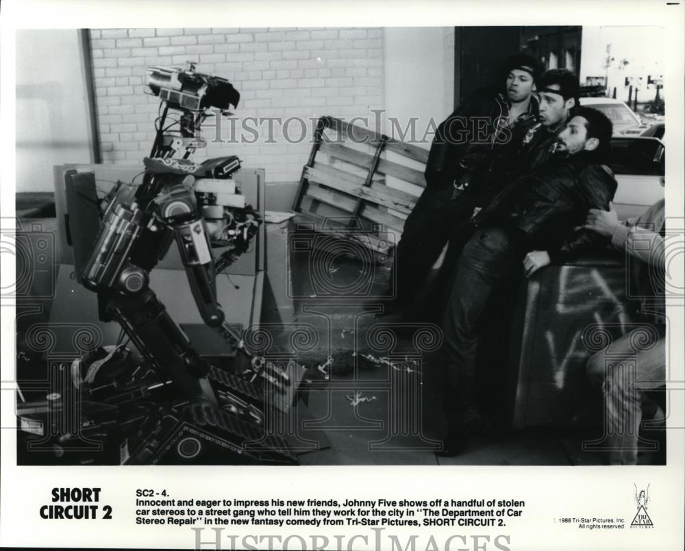 Movie And Tv Press Photos Short Circuit 10 Johnny 5 From 1986 2 1989 Photo Five Robot Star Of Fantasy