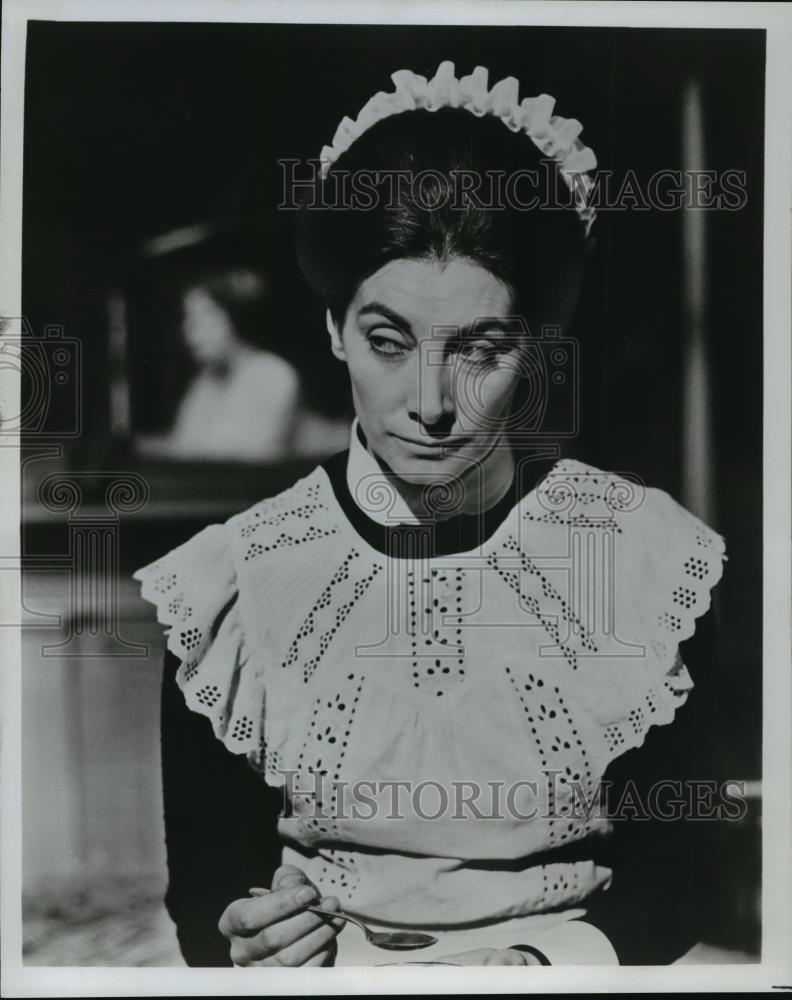 1977 Press Photo Jean Marsh In Upstairs Downstairs