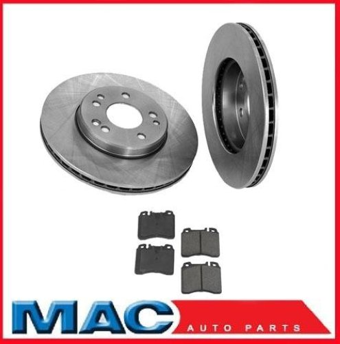 1994 1995 mercedes e320 e420 front brake rotors pads for Mercedes benz rotors replacement