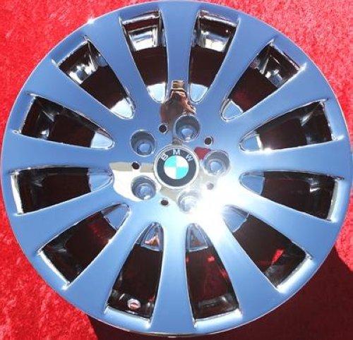 "Bmw 650i: Set Of 4 Chrome 18"" BMW 645Ci 645i 650i Style 118 Factory"