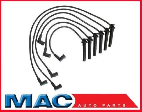 03 01 Ford Taurus 3 0l V 6 Spark Plug Ignition Wires