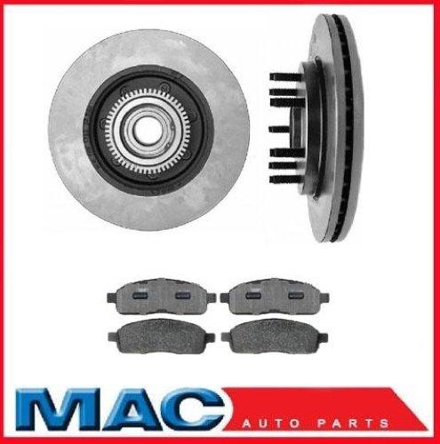 04 08 Ford F150 Front Hub Bearing Brake Rotors Amp Pads 7 Ebay