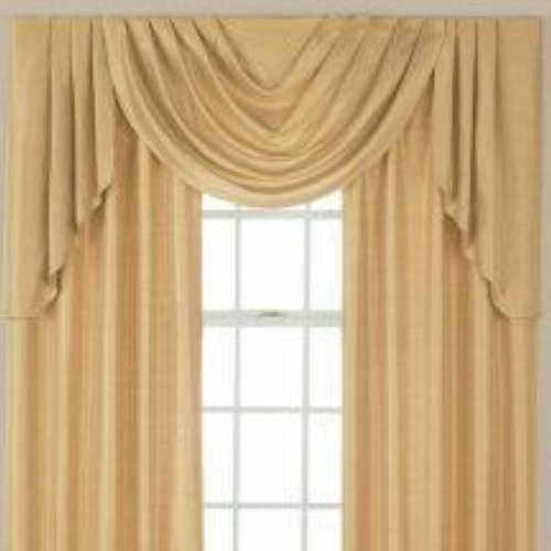 Details about JCPenney Supreme Cascade & Swag Set Valances