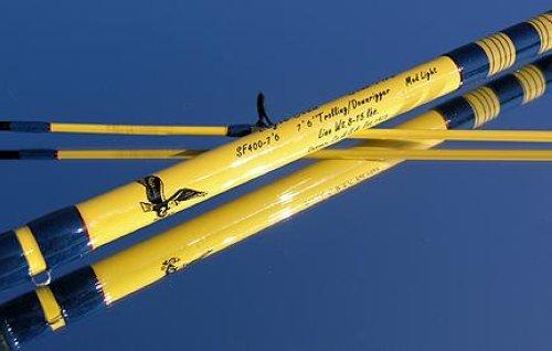 Eagle Claw Starfire Trolling Downrigger Rod Sf400 7 6 Ebay