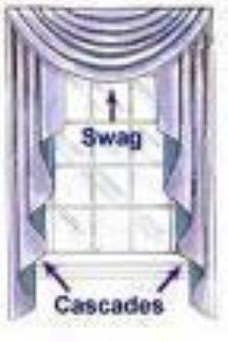 Jcpenney Supreme Designer Swag Valances 44w X 18l Self