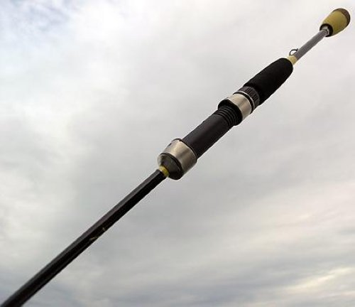 6 39 10 skeet reese micro honeycomb spinning fishing rod ebay for Micro fishing pole