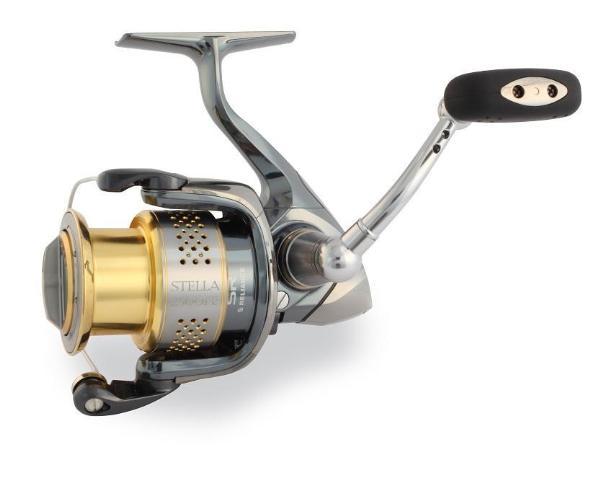 Shimano stella stl2500fe spinning fishing reel for Stella fishing reel