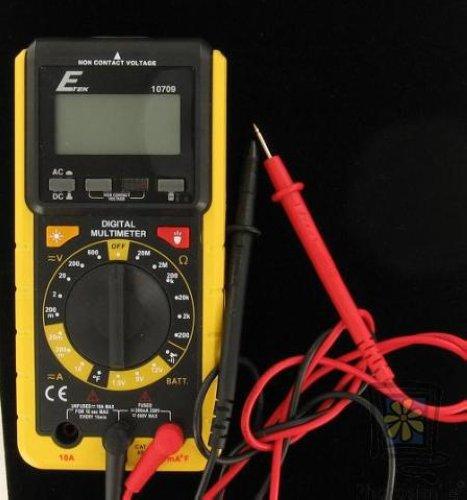 Etek Digital Multimeter : E tek digital multimeter etek with probes ebay