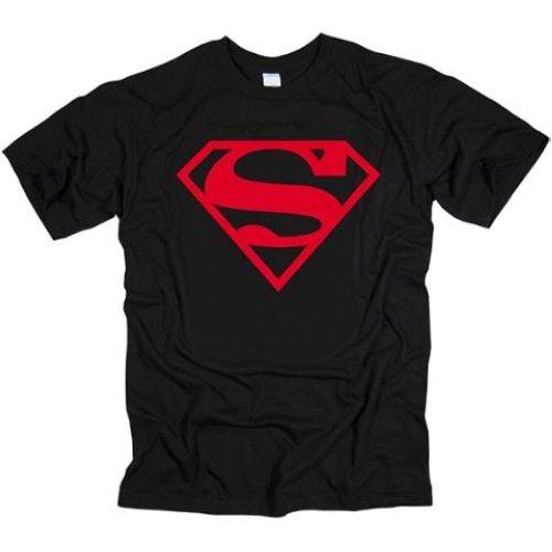 SUPERMAN-T-SHIRT-RED-ON-BLACK-SHIELD-TOP