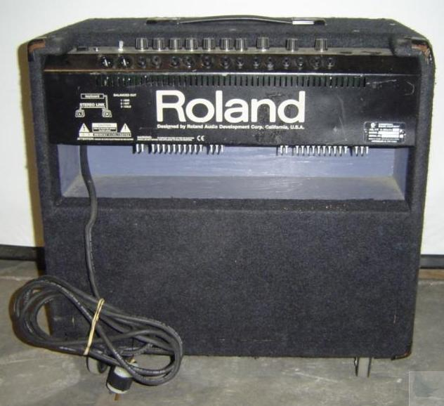 roland kc 500 stereo mixing keyboard amplifier ebay. Black Bedroom Furniture Sets. Home Design Ideas