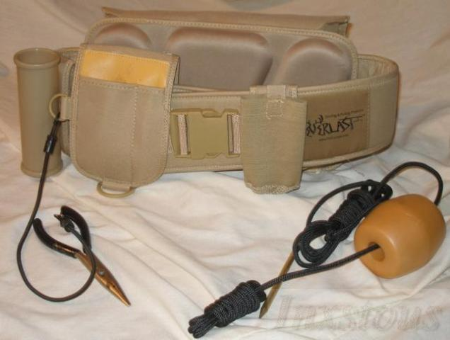 Everlast wading belt fishing ebay for Wade fishing belt