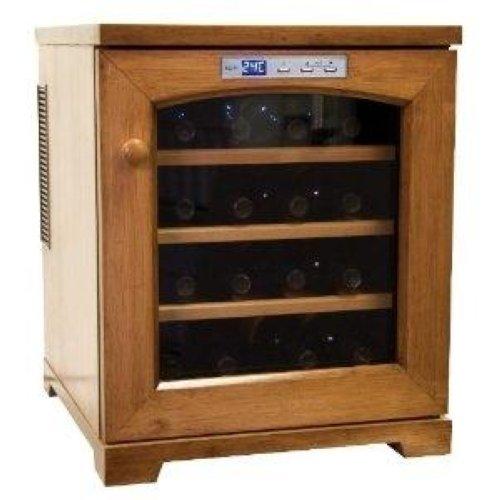 haier hvts16amb wine cooler 16 bottle wine cellar ebay. Black Bedroom Furniture Sets. Home Design Ideas