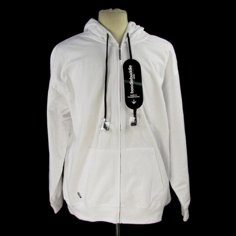 Hoodies with earbuds built in