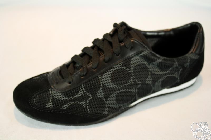 COACH Neala Printed Mesh Black Sneakers Shoes size 10 | eBay