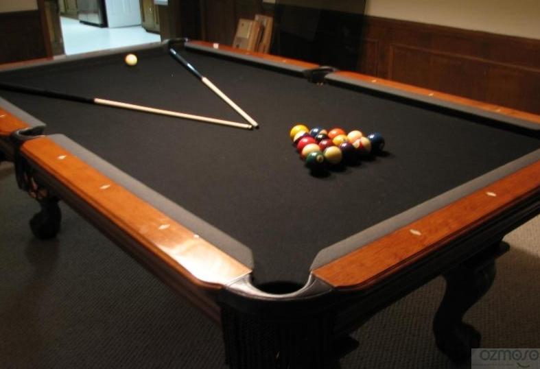 Black Felt Pool Table Dk Billiards