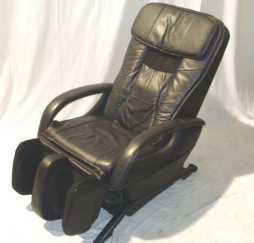 panasonic ep1272 black shiatsu massage chair as is ebay. Black Bedroom Furniture Sets. Home Design Ideas