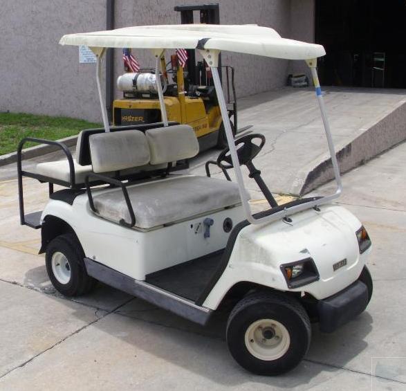 1999 yamaha g16e electric powered golf cart ebay for Yamaha golf cart dealers in florida