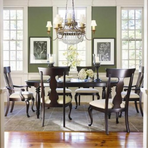 Thomasville Dining Room Sets: Thomasville Furniture Coterie Dining Table & Chairs Set