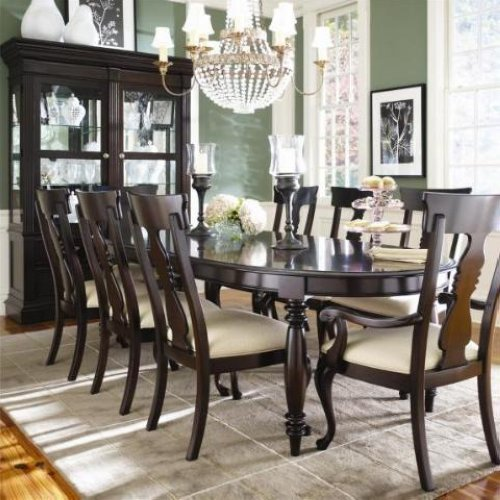 Thomasville Cherry Dining Room Set: Thomasville Furniture Coterie Dining Table & Chairs Set