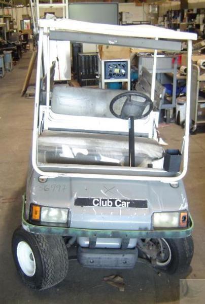2001 Ingersoll Rand Club Car Carryall 6 Golf Cart