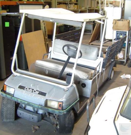 2001 ingersoll rand club car carryall 6 golf cart ebay. Black Bedroom Furniture Sets. Home Design Ideas