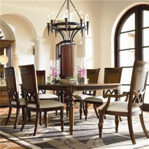 Thomasville Dining Room Furniture: Thomasville Furniture Veranda Bay Leg Dining Table Set