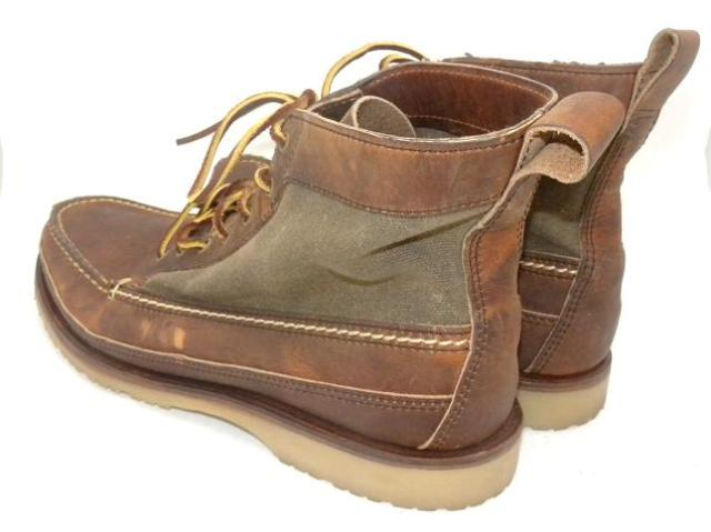 JCREW Red Wing Wabasha chukka Boots $240 10.5 pony brown