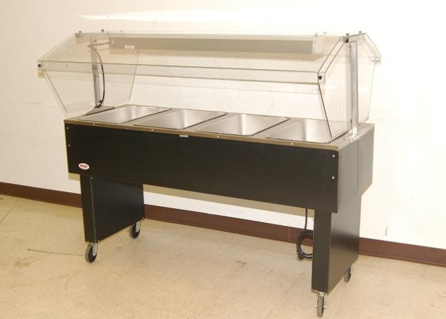 Eagle 4 bay electric steam table w sneezeguard 64 ebay - Sneeze guard for steam table ...