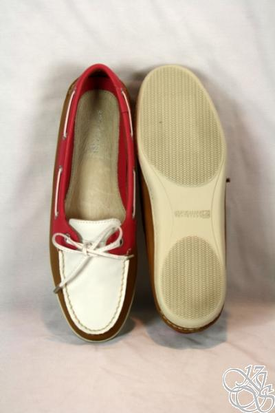 Sperry Women Boat Shoes on Sperry Top Sider Montauk Tan Pink Womens Boat Shoes   Ebay