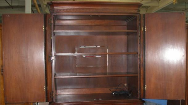 Hickory Chair Furniture James River Armoire Entertainment Center