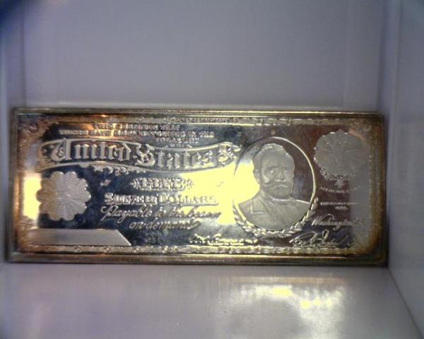 One Troy Pound Silver Certificate Bar Ingot 999 5 Five