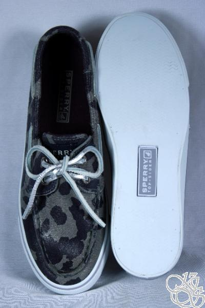 Sperry Women Boat Shoes on Sperry Top Sider Bahama Marble Cheetah Womens Boat Shoes New   Ebay