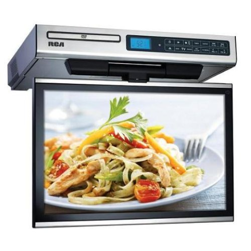 under cabinet kitchen tv dvd combo rca 15 4 034 lcd tv dvd radio combo kitchen cabinet 27489