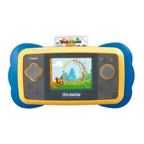FREE Shipping on eligible orders. out of 5 stars Manufacturer recommended age: 3 - 5 Years $20 LEARNING APP DOWNLOAD CARD (MobiGo, InnoTab, Vreader Compatible) VTech - MobiGo Software - Super Hero Squad. by VTech. fun and innovative game play VTech's MobiGo Touch Learning System VTech MobiGo Touch Learning System - Carry.