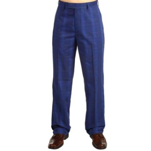 New Callaway Flat Front Peached Twill Plaid Check Pants ...