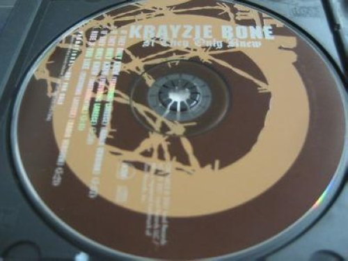 Krayzie Bone - If They Only Knew 4trk Promo Cd Cs217