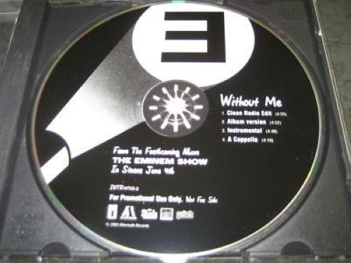 Eminem - Without Me 4trk Promo Cd Cs122