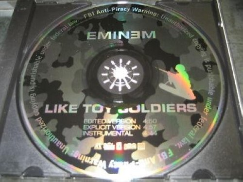 Eminem - Like Toy Soldiers 3trk Promo Cd Cs122