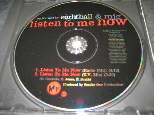 Eightball & Mjg - Listen To Me Now 2trk Promo Cd Cs119