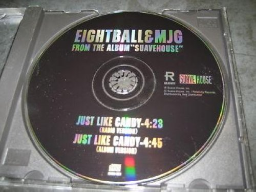 Eightball & Mjg - Just Like Candy 2trk Promo Cd Cs119