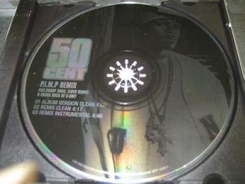 50 Cent - P.i.m.p. Remix 3trk Promo Cd Cs130