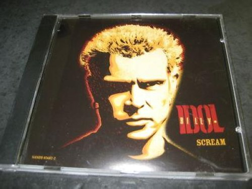 Billy Idol - Scream 3trk Promo Cd Cs183