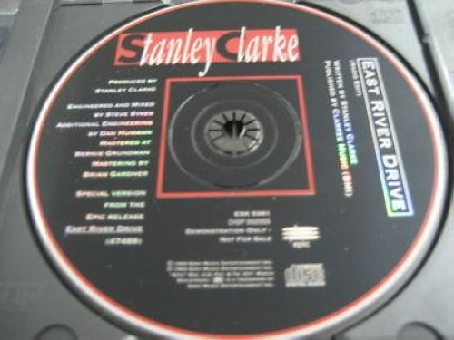 Stanley Clarke East River Drive 1trk Promo Cd Cs93 CD:SINGLE