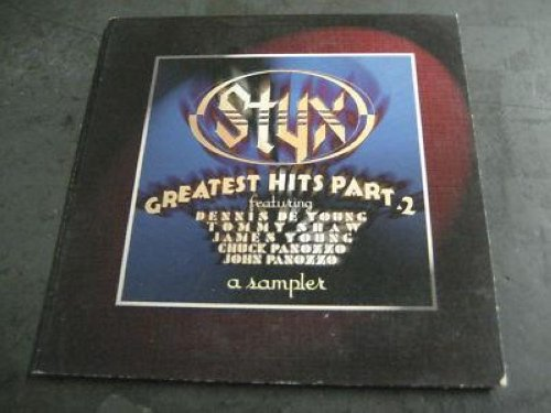 Styx - Greatest Hits Part 2 4trk Promo Cd Cs386